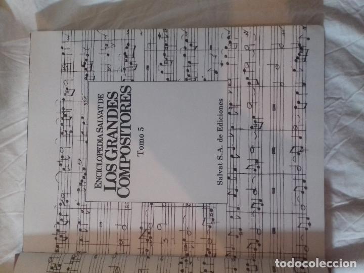 Catálogos de Música: LOS GRANDES COMPOSITORES-TOMO 5-SALVAT-1984 - Foto 3 - 79818317