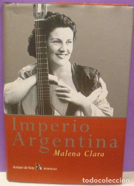 IMPERIO ARGENTINA - MALENA CLARA (Música - Catálogos de Música, Libros y Cancioneros)