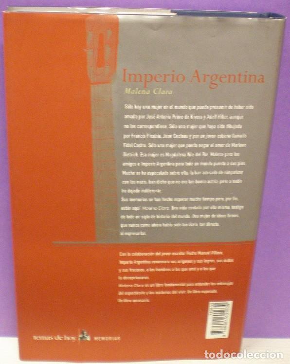 Catálogos de Música: Imperio Argentina - Malena Clara - Foto 2 - 79859965