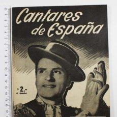 Catálogos de Música: CANTARES DE ESPAÑA, REVISTA MUSICAL Nº 11 OCTUBRE 1954 AN 34 ANGELILLO 34 PAGINAS. Lote 80638554