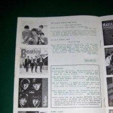 Catálogos de Música: BEATLES PUBLICIDAD ORIGINAL EMI ODEON NUEVOS DISCOS BARCELONA 1964 RARO PAGINA ENTERA. Lote 82552704