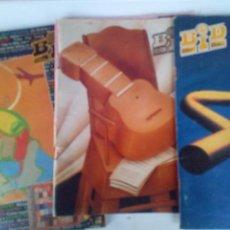 Catálogos de Música: 3 NÚMEROS BID FOLETIN INFORMATIVO DISCOPLAY Nº104 AÑO 1992,Nº 115 AÑO 1993 Nº140 1995. Lote 62335424