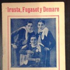 Catálogos de Música: CANCIONERO, IRUSCA, FUGASOT Y DEMARE SUS MEJORES TANGOS.. Lote 85057252