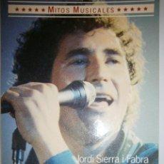 Catálogos de Música: MIGUEL RIOS MITOS MUSICALES JORDI SIERRA I FABRA CIRCULO DE LECTORES 1985 DIMENSIONES CONTRASTES Y. Lote 125016068