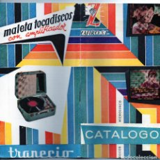 Catálogos de Música: CATALOGO DISCOS MICROSURCO ZAFIRO. Lote 86675028