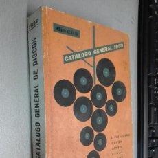 Catálogos de Música: DISCOS, CATÁLOGO GENERAL 1959 / LA VOZ DE SU AMO, ODEON, CAPITOL, REGAL, PATHÉ,.... Lote 86695100