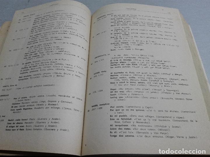 Catálogos de Música: DISCOS, CATÁLOGO GENERAL 1959 / LA VOZ DE SU AMO, ODEON, CAPITOL, REGAL, PATHÉ,... - Foto 3 - 86695100