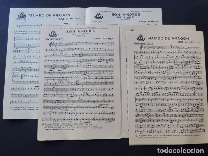 Catálogos de Música: MAMBO DE ARAGON ( JOSE Mª MELENDO ) SON AMORES ( MERENGUE ) AÑO 1962 - Foto 2 - 87046624