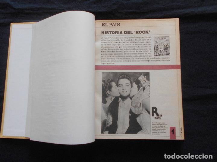 Catálogos de Música: HISTORIA DEL ROCK EL PAIS // 628 PAGINAS - TAPAS DURAS - Foto 2 - 87241556