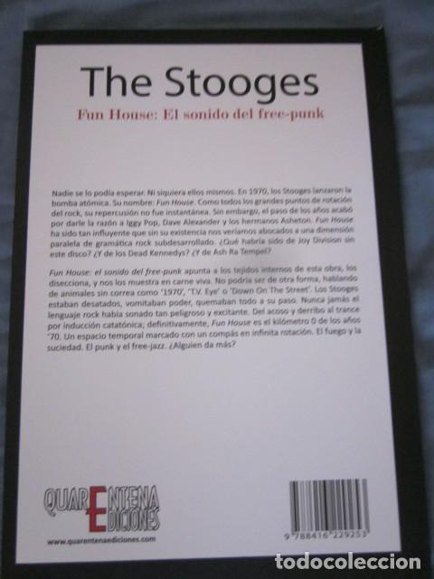 Catálogos de Música: THE STOOGES - FUN HOUSE: EL SONIDO DEL FREE PUNK - LIBRO EN ESPAÑOL - AUTOR:MARCOS GENDRE. - Foto 2 - 111930556