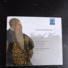 Catálogos de Música: GUSTAF WASA JOHANN GOTTLIEB NAUMANN VIRGIN 2CD ¡NUEVO PRECINTADO!. Lote 89375140