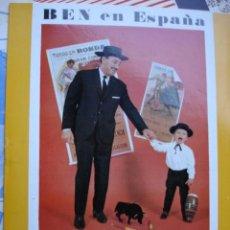 Catálogos de Música: CATALOGO DISCOS BEN EN ESPAÑA 1963. Lote 92000510