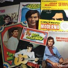 Catálogos de Música: LOTE 6 CANCIONEROS JOAN MANUEL SERRAT (C6). Lote 92852085