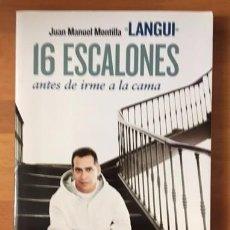 Catálogos de Música: EL LANGUI - 16 ESCALONES ANTES DE IRME A LA CAMA - NUEVO. Lote 94691215