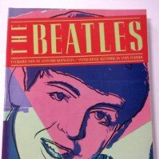 Catálogos de Música: LIBRO THE BEATLES POR LEONARD BERNSTEIN PORTADA ANDY WARHOL, ROLLING STONE BOOK 1980. Lote 94734571