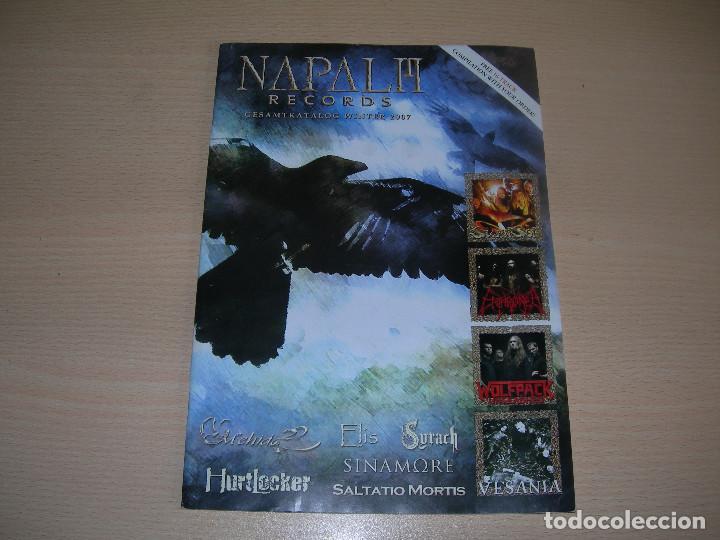 CATALOGO NAPALM RECORDS WINTER 2007 ENVIO GRATUITO (Música - Catálogos de Música, Libros y Cancioneros)
