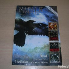 Catálogos de Música: CATALOGO NAPALM RECORDS WINTER 2007 ENVIO GRATUITO. Lote 95235587