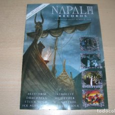 Catálogos de Música: CATALOGO NAPALM RECORDS SUMMER 2008 ENVIO GRATUITO. Lote 95235603
