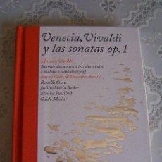 Catálogos de Música: LIBRO CON 2 CD' S - VENECIA, VIVALDI Y LAS SONATAS OP. 1. EDICIÓN LIMITADA Y NUMERADA DE 4099 EJEMP.. Lote 95429619