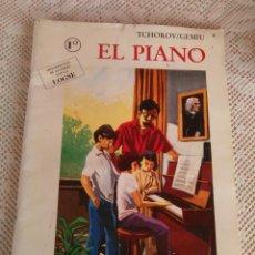 Catálogos de Música: **LIBRO,---EL PIANO--- REAL MUSICAL, MADRID. 67 PAG. 33/22CM. AÑO 1996**. Lote 95677314