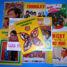 Catálogos de Música: LOTE 10 CANCIONEROS (VER LISTA Y FOTOS DE CADA UNO). Lote 96105747