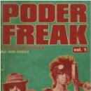 Catálogos de Música: JAIME GONZALO - PODER FREAK, UNA CRÓNICA DE LA CONTRACULTURA (VOL.1) - DISCOS CRUDOS 2009 (1ª ED.). Lote 96136159