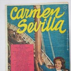 Catálogos de Música: CANCIONERO CARMEN SEVILLA - TDK286. Lote 96465260
