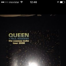 Catálogos de Música: LIBRO QUEEN - THE COSMOS ROCKS TOUR 2006. Lote 97634115