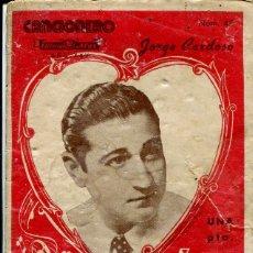 Catálogos de Música: CANCIONERO / JORGE CARDOSO. Lote 97665859