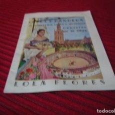 Catálogos de Música: CANCIONERO COPLA Y BANDERA DE QUINTERO.LEÓN Y QUIROGA.LOLA FLORES.. Lote 97712443