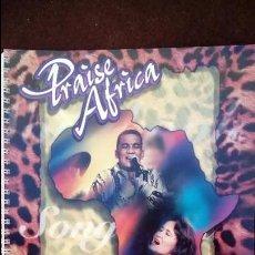 Catálogos de Música: PRAISE ÁFRICA SONG BOOK . Lote 98189795