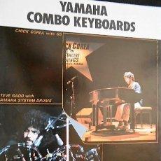 Catálogos de Música: ANTIGUO CATALOGO TECLADOS YAMAHA. COMBO KEYBOARDS. AÑOS 80. EN ESPAÑOL. Lote 98676123