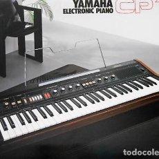 Catálogos de Música: ANTIGUO CATALOGO YAMAHA CP 11. AÑOS 80. EN ESPAÑOL. Lote 98678851