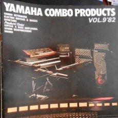 Catálogos de Música: ANTIGUO CATALOGO YAMAHA COMBO PRODUCTS. VOL 9. AÑO 1982. EN INGLES. Lote 98681047