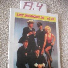 Catálogos de Música: REVISTA VINTAGE LOS BEATLES - ENVIO INCLUIDO A ESPAÑA. Lote 99340991