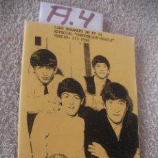 Catálogos de Música: REVISTA VINTAGE LOS BEATLES - ENVIO INCLUIDO A ESPAÑA. Lote 99341087
