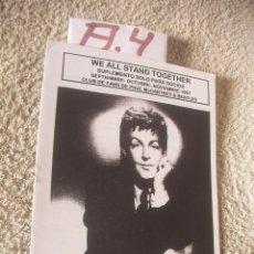 Catálogos de Música: REVISTA VINTAGE LOS BEATLES - ENVIO INCLUIDO A ESPAÑA. Lote 99341287