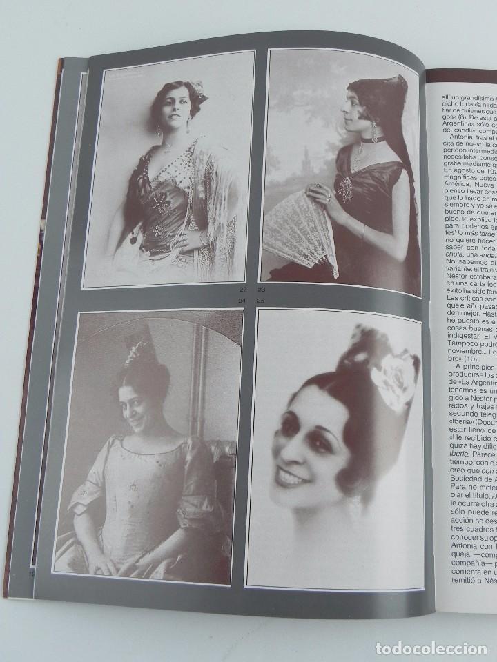 Catálogos de Música: LIBRO DEL Homenaje en su Centenario. ANTONIA MERCÉ, LA ARGENTINA, AÑO 1890-1990. TIENE 261 páginas. - Foto 2 - 99502599