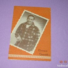 Catálogos de Música: ANTIGUO CANCIONERO DESPLEGABLE DE LORENZO GONZALEZ DE ODEON. Lote 99689131
