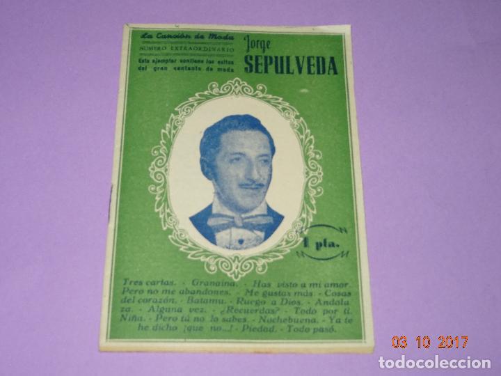 ANTIGUO CANCIONERO DE JORGE SEPÚLVEDA DE EDICIONES PATRIÓTICAS DE SEVILLA (Música - Catálogos de Música, Libros y Cancioneros)