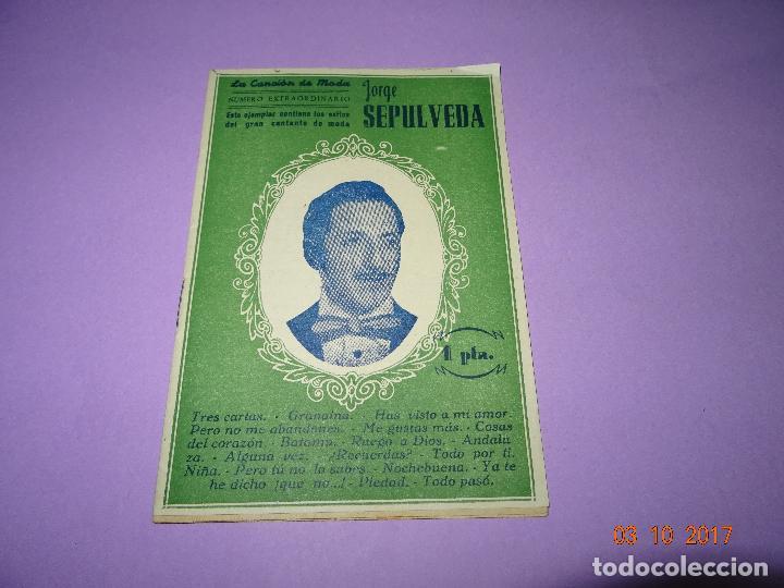Catálogos de Música: Antiguo Cancionero de JORGE SEPÚLVEDA de Ediciones Patrióticas de Sevilla - Foto 2 - 99689651