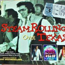 Catálogos de Música: ELVIS PRESLEY - STEAMROLLING OVER TEXAS. Lote 99721907