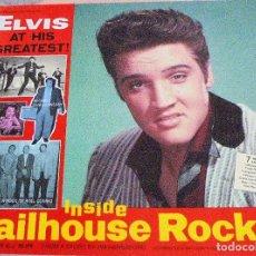 Catálogos de Música: ELVIS PRESLEY - INSIDE JAILHOUSE ROCK. Lote 99724699