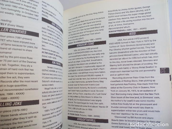 Catálogos de Música: The Direktory of Heavy Metal. Kerrang. A-Z guide Rock Warriors. 1993 1ª ed.Guía de grupos heavy - Foto 2 - 100546251