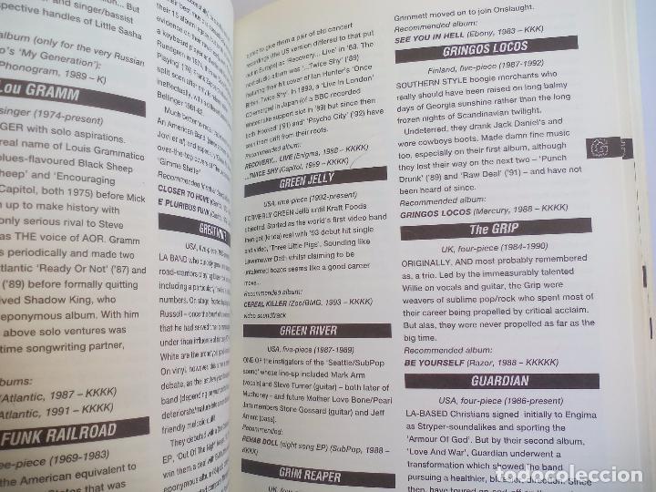 Catálogos de Música: The Direktory of Heavy Metal. Kerrang. A-Z guide Rock Warriors. 1993 1ª ed.Guía de grupos heavy - Foto 3 - 100546251