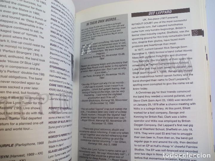 Catálogos de Música: The Direktory of Heavy Metal. Kerrang. A-Z guide Rock Warriors. 1993 1ª ed.Guía de grupos heavy - Foto 4 - 100546251