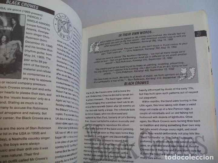 Catálogos de Música: The Direktory of Heavy Metal. Kerrang. A-Z guide Rock Warriors. 1993 1ª ed.Guía de grupos heavy - Foto 5 - 100546251