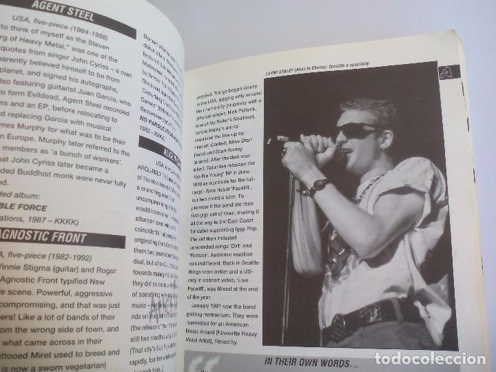 Catálogos de Música: The Direktory of Heavy Metal. Kerrang. A-Z guide Rock Warriors. 1993 1ª ed.Guía de grupos heavy - Foto 6 - 100546251
