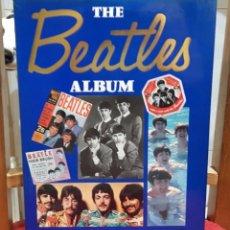 Catálogos de Música: BEATLES -THE BEATLES ALBUM- LIBRO REINO UNIDO-JULIA DELANO-MARAVILLOSO- PAUL MCCARTNEY- JOHN LENNON. Lote 100757103
