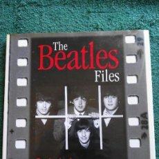 Catálogos de Música: LIBRO THE BEATLES FILES . Lote 100770691